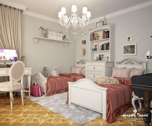 Bedroom decor vintage
