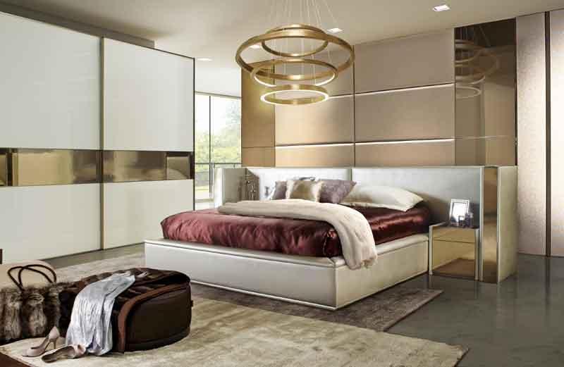 Built-in bedroom